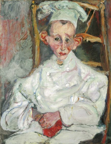 Soutine, Chaim The Little Pastry Cook from Cagnes; Le patissier de Cagnes. c.1922-1923 Christie's Images, London/Scala, Florence