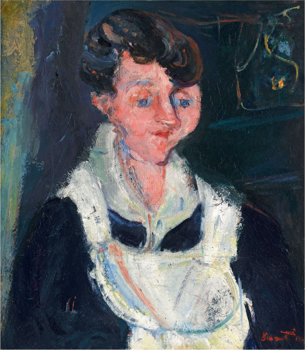 La Soubrette (Waiting Maid), c.1933 (oil on canvas)