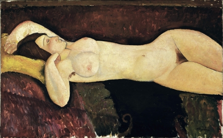 Amedeo Modigliani, Reclining Nude 1919, Museum of Modern Art, New York