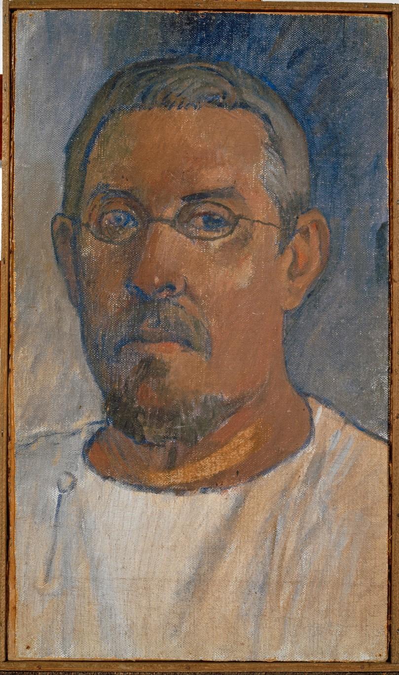 Paul Gauguin; Portrait de l'artiste par lui-même; 1903