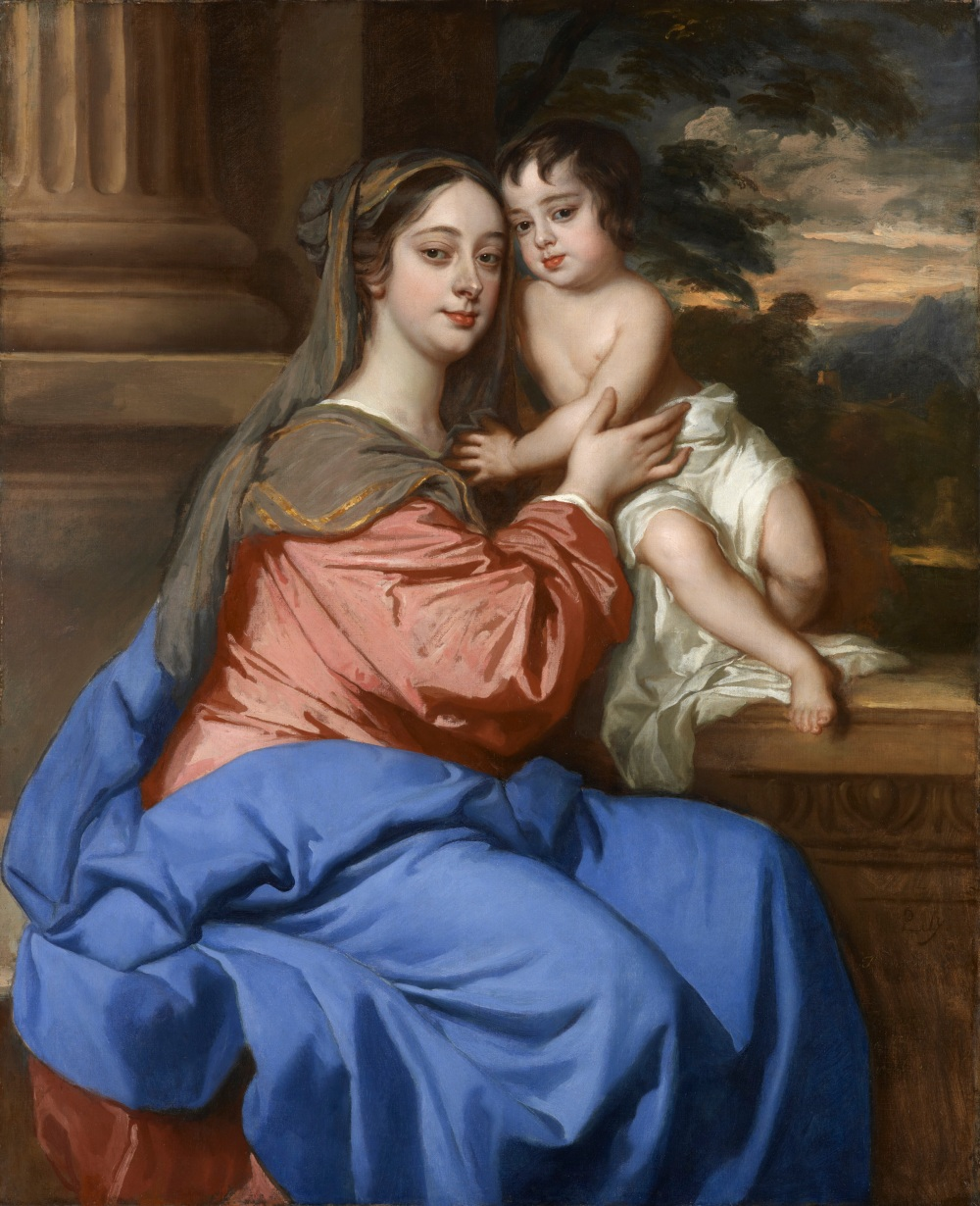 Peter Lely, Barbara Palmer Duchess of Cleveland with her son