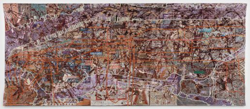 Very Large Very Expensive Abstract Painting - Grayson Perry, 2020