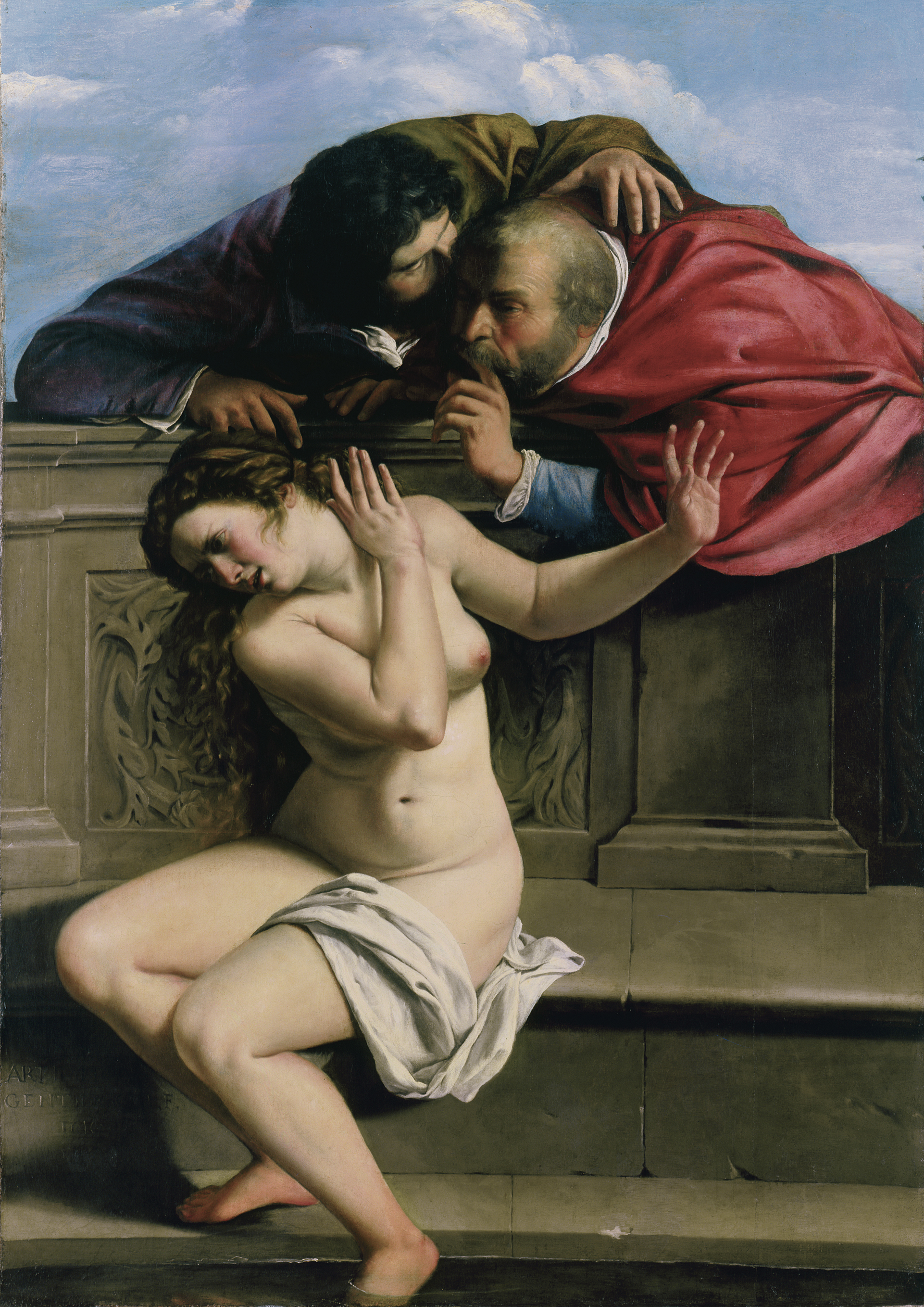 Susanna and the Elders, 1610