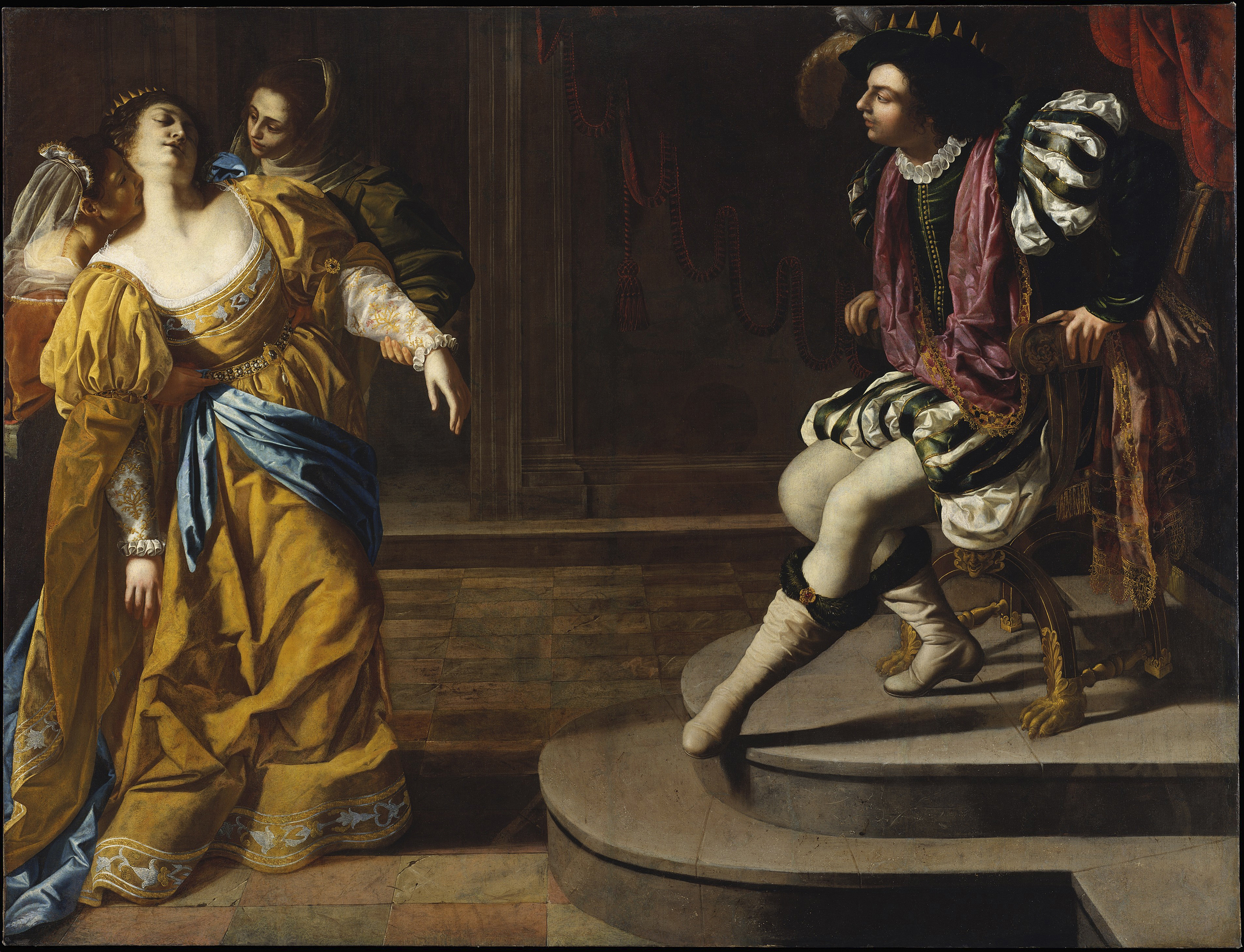 Esther before Ahasuereus, c. 1628-35