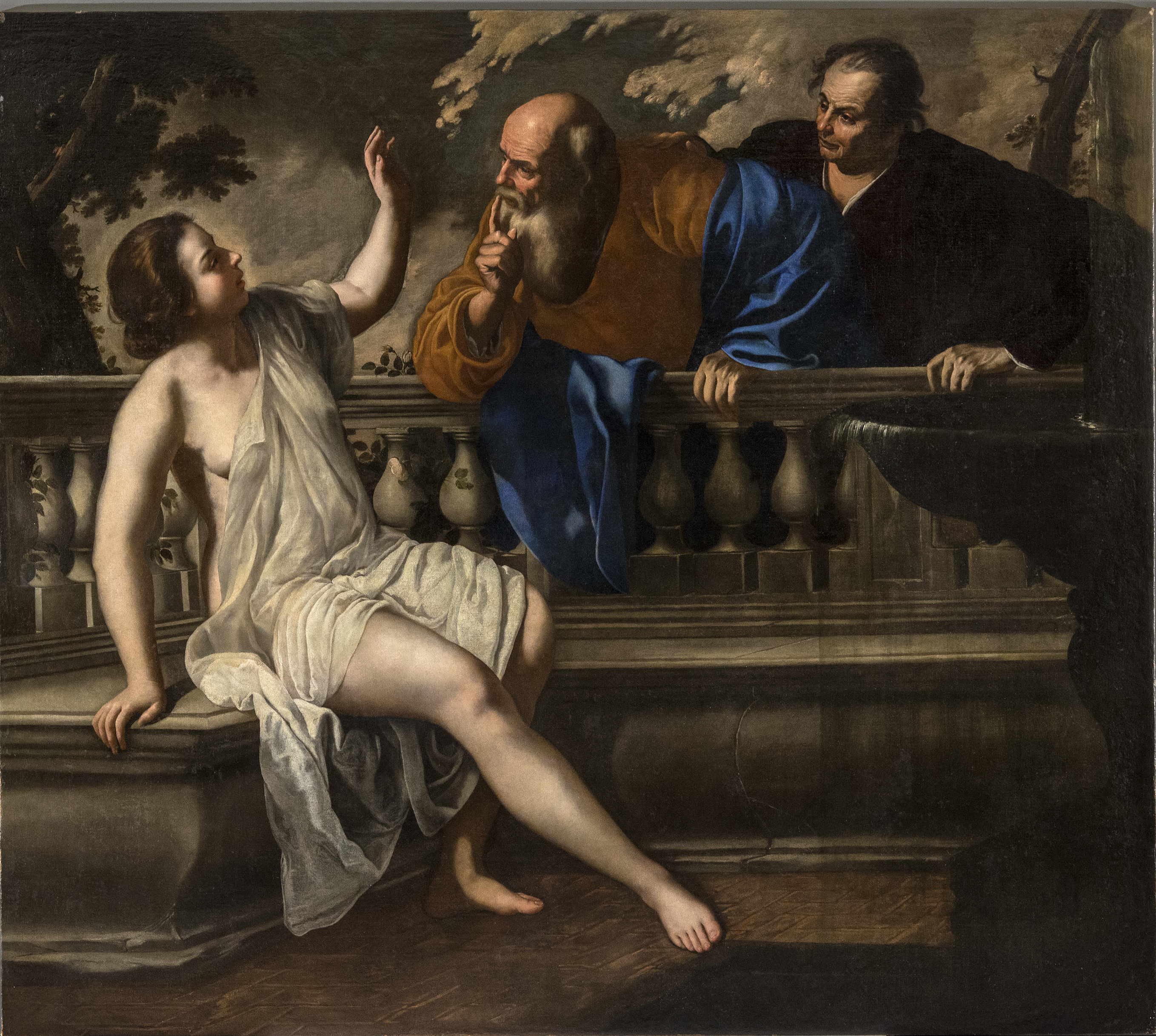 Susanna and the Elders, 1652