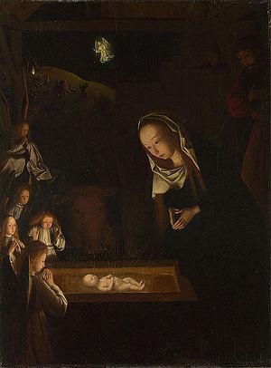 Geertgen_tot_Sint_Jans,_The_Nativity_at_Night,_c_1490