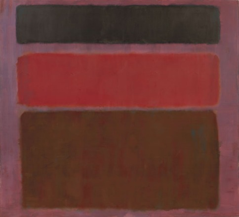 Mark Rothko, No. 16 (Red, Brown, and Black), oil on canvas